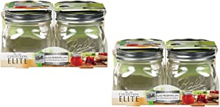 Collection Elite (16 oz) Pint Jars - Wide Mouth - Set of 8