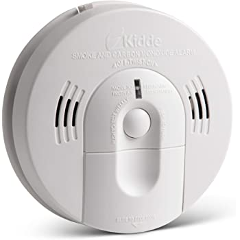 Kidde 21026043 Battery-Operated (Not Hardwired) Combination Smoke/Carbon Monoxide Alarm with Voice Warning KN-COSM-BA