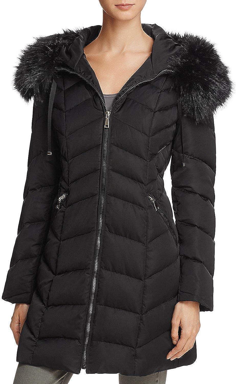 T Tahari Gwen Down Coat Black