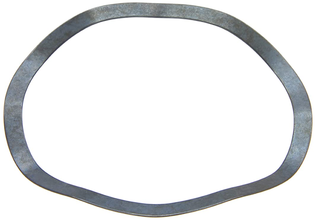 Compression Type Wave Washer, Carbon Steel, 6 Waves, Inch, 4.291