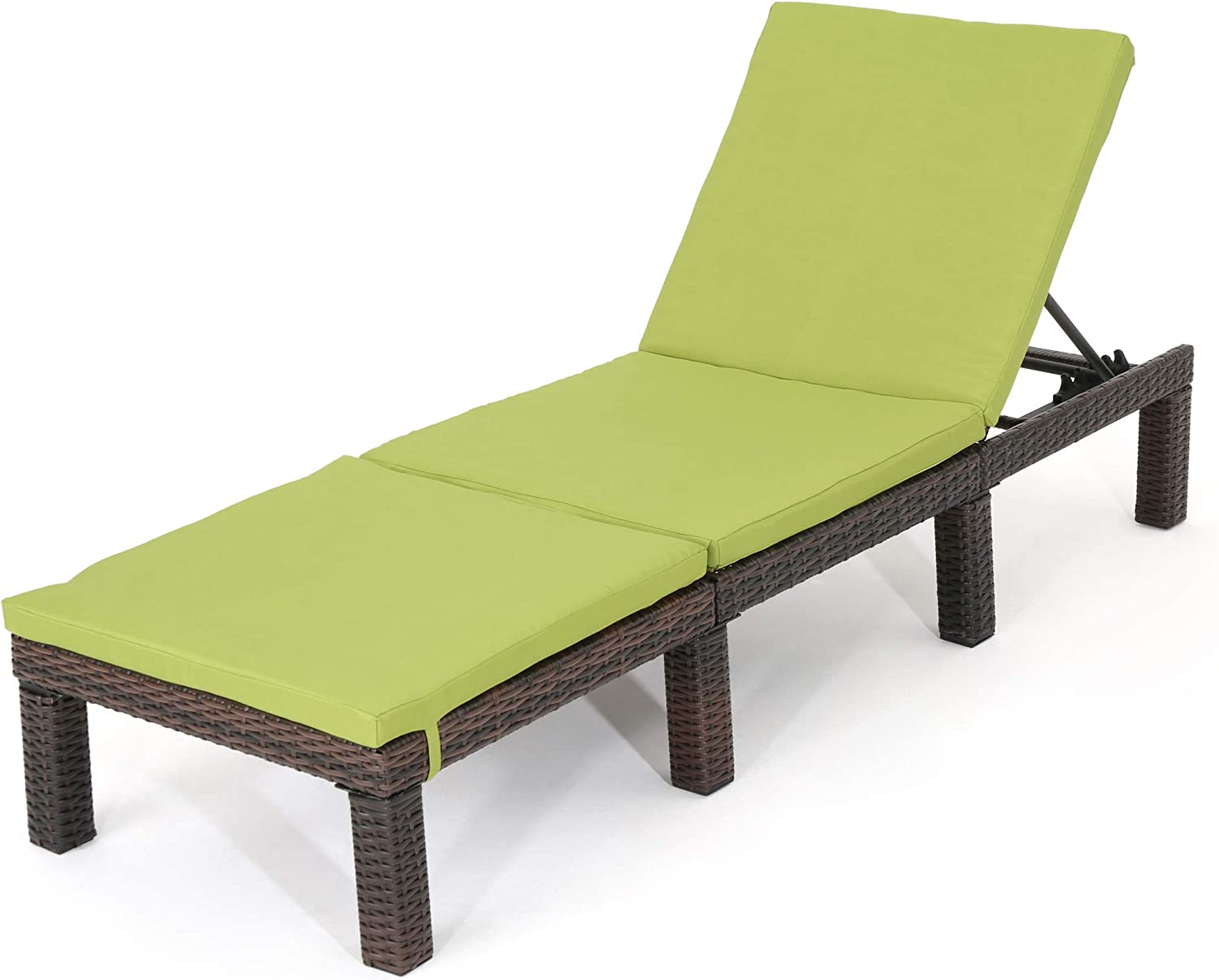 Christopher Knight Home Outlet SALE Jamaica Max 47% OFF Outdoor Chaise wit Lounge Wicker