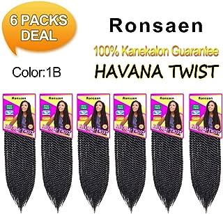 12 inch 6 packs Twist Hair Crochet Braids (22starnds/pack) Mambo Twist Crochet Hair Senegales Twist Crochet Braiding Hair Extensions (12