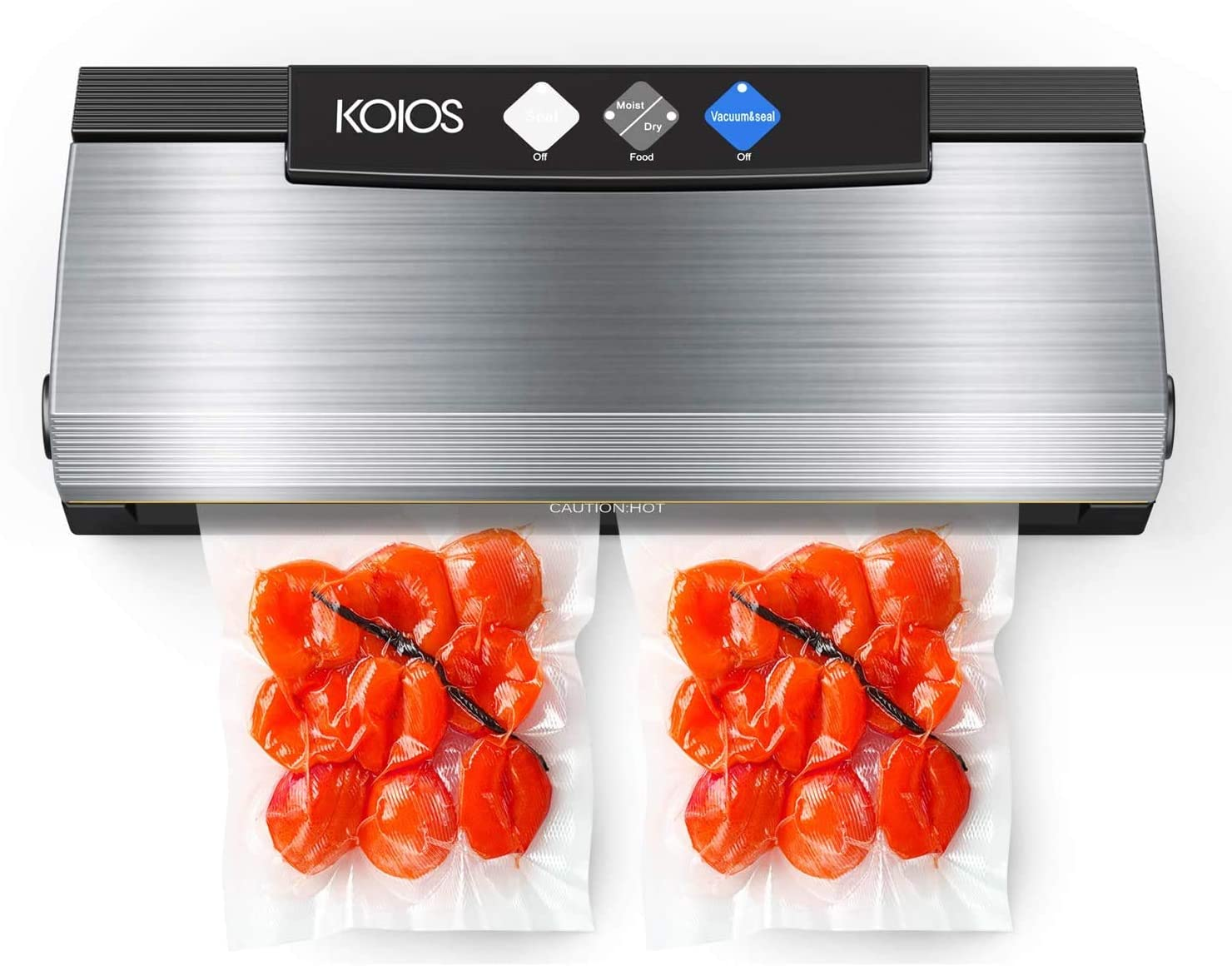 KOIOS Vacuum Sealer Machine 80Kpa Rapid rise Automatic New Shipping Free Food with Cu