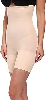 SPANX Women's Higher Power Shorts Soft Nude Medium