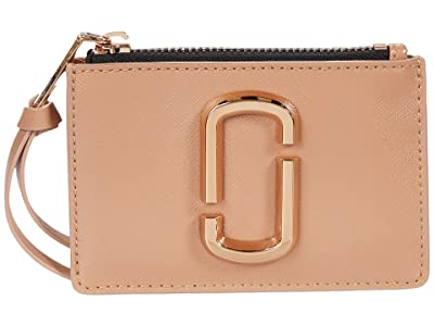 Marc Jacobs Snapshot DTM Top Zip Multi Wallet (Sunkissed) Wallet Handbags