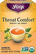 Yogi Tea - Throat Comfort (6 Pack) - Soothes the Throat - 96 Tea Bags
