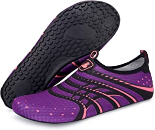 promo code 8e6db cc15b Barerun Barefoot Quick-Dry Water Sports Shoes Aqua Socks for Swim Beach  Pool Surf Yoga