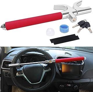 Sponsored Ad - Turnart Steering Wheel Lock Universal Car Lock Anti-Theft Device Retractable Steering Lock with 3 Keys for ... photo