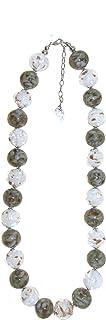Venetiaurum - Collana Girocollo Con Perle In Vetro Originale Di Murano E Argento 925 - Gioiello Made In Italy Certificato