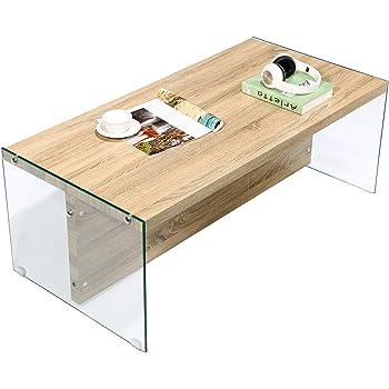 GreenForest Mesa de Centro Moderna, Mesa de sofá de Mesa de salón ...