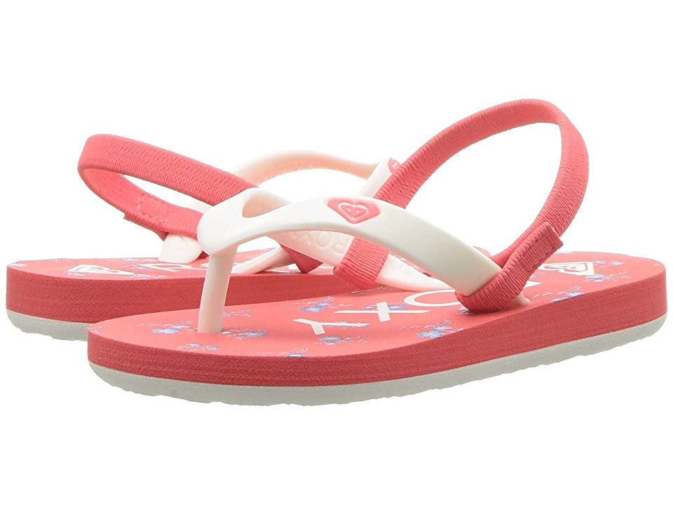 Roxy Kids Tahiti VI (Toddler) (Fuchsia/Turquoise) Girls Shoes