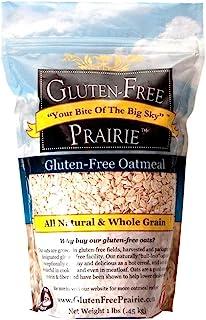 Gluten-Free Prairie Oatmeal, Certified Gluten Free Purity Protocol, Non-GMO, Vegan, 1 Pound