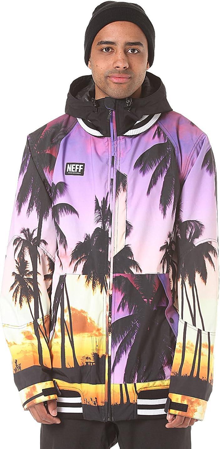 neff men s squad jacket