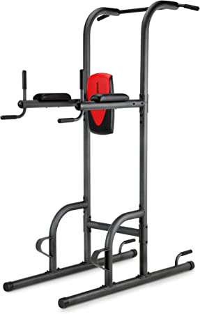 Weider Power Tower with 4 Workout Stations and 300 Lb. User Capacity