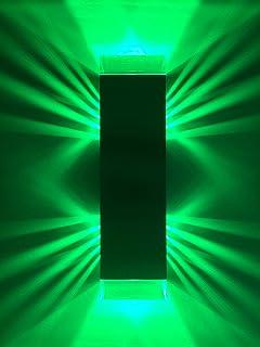 Wandleuchte grünes Licht 6W LED Beleuchtung Deko Gestaltung   ShineLED-6 1.0 SpiceLED