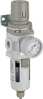 PneumaticPlus SAW300-N03BG Compressed Air Filter Regulator Piggyback Combo 3/8
