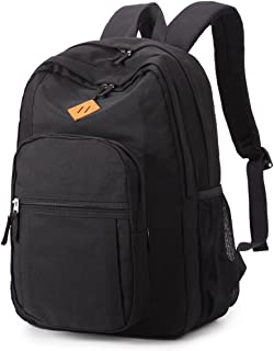 Classical Basic Travel Backpack For School Water Resistant Bookbag
