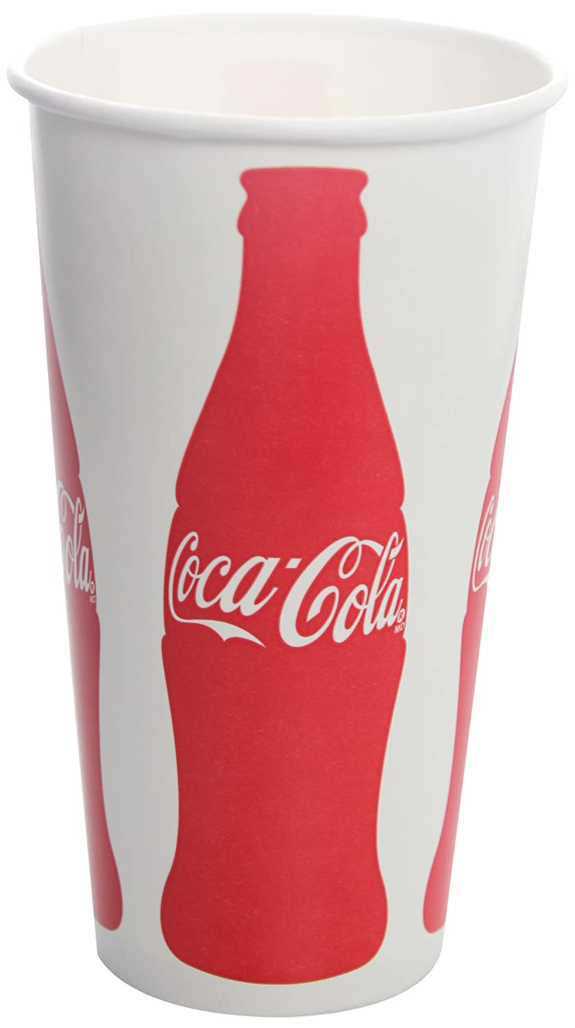 Karat C-KCP32 Coke 32 oz Paper Cold Print Cup Pack Albuquerque Selling rankings Mall