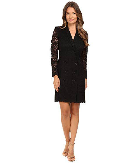 The Kooples Jacket Style Wrap-Around Dress in Lace at 6pm