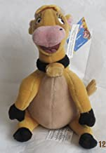 """Disney HOME on the RANGE Mini PLUSH Bean Bag GRACE 7"""" the MOOING COW w Sound STORE EXCLUSIVE (2004)"""