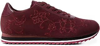 Desigual Luxury Fashion Womens 19WSKP18BURGUNDY Burgundy Sneakers   Fall Winter 19