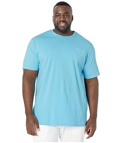 Polo Ralph Lauren Big & Tall Big Tall 26/1 Jersey Short Sleeve Classic Fit T-Shirt (Neptune) Men