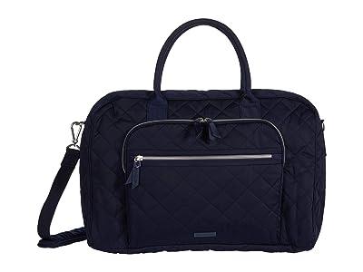 Vera Bradley Performance Twill Lay Flat Weekend Bag (Classic Navy) Bags