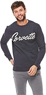 French Kick Sweatshirts For Men, Navy S
