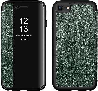 غطاء شفاف أمامي لهواتف Apple iPhone SE 2020 - أخضر داكن