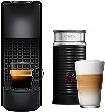 Nespresso Essenza Mini Máquina de Café com Aeroccino, Preto