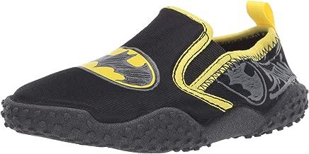 Batman Slip On Water Shoes Dual Sizes Black Toddler/Little Kid
