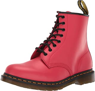 red doc martin boots