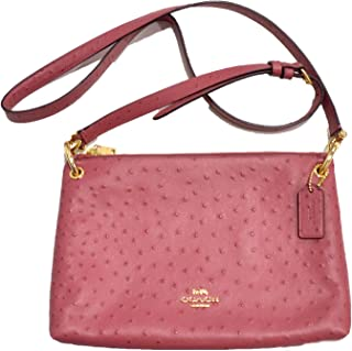 Coach Womens Ostrich Mla Crossbody F76644