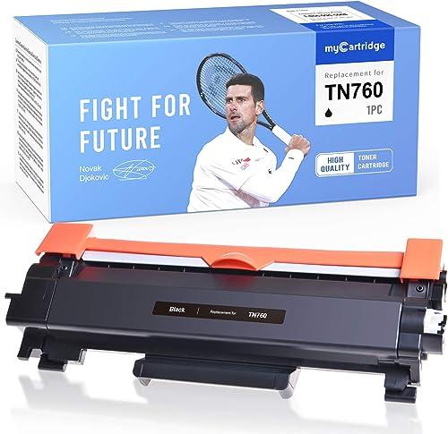 wholesale MYCARTRIDGE Compatible Toner discount Cartridge Replacement for Brother TN-760 2021 TN760 TN-730 TN730 to use with HL-L2350DW HL-L2370DW HL-L2390DW MFC-L2710DW MFC-L2750DW HL-L2395DW DCP-L2550DW (1-Black) sale