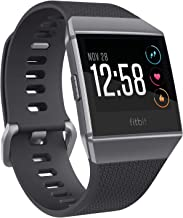 Fitbit Ionic Smartwatch, Charcoal/Smoke Gray, One Size (S & L Bands Included) (Renewed)