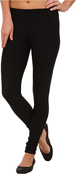 Fleece-Lined Matte Spandex Legging