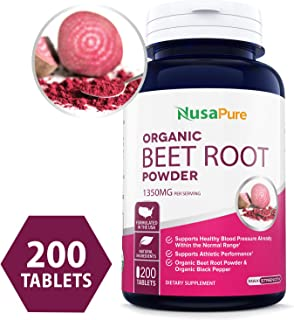 Best nature's way beetroot tablets Reviews