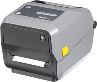Zebra - ZD620t Thermal Transfer Desktop Printer for Labels and Barcodes - Print Width 4 in - 203 dpi - Interface: WiFi, Bluetooth, Ethernet, Serial, USB - ZD62042-T01L01EZ