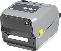 $439 » Zebra - ZD620t Thermal Transfer Desktop Printer for Labels and Barcodes - Print Width 4 in - 203 dpi - Interface: Ethernet, Serial, USB - ZD62042-T01F00EZ