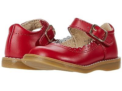 FootMates Allie (Infant/Toddler/Little Kid) (Apple Red) Girl