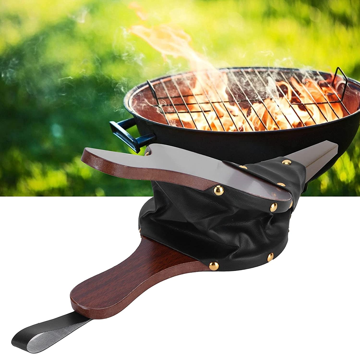 Hand Bellow Fireplace New life Blower Safe Barbecues Max 40% OFF Picnics for and