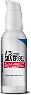 Results RNA ACS 200 Colloidal Silver Gel Extra Strength   Advanced Cellular Silver Topical Gel for Sunburn, Wounds, Rashes, Skin Irritations (2 oz)