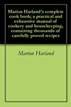 marion harland cookbook