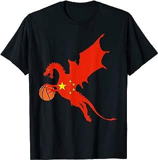 China Basketball Jersey China Dragon Flag Gift T-Shirt