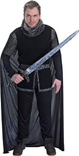 Mens Historical Medieval Knight Fancy Dress Outfit Sheriff Of Nottingham Costume