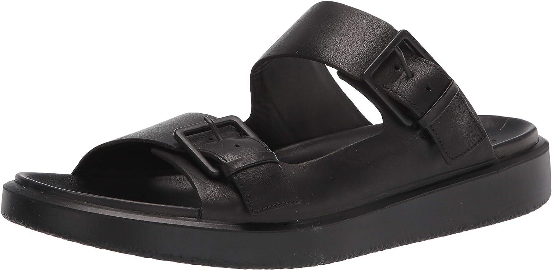 ECCO Men's Flowt Sales Luxe Sandal Spring new work Buckle Slide