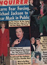 National Enquirer Newspaper, May 27 1986 Michael Jackson.Princess Diana,Burt Reynolds,Heather Locklear