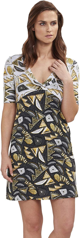 Feraud 319509410996 Women's Voyage Black Print Beach Dress