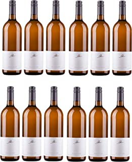 A. Diehl Scheurebe Weißwein Wein lieblich QbA Literflasche Deutschland 12 Flaschen