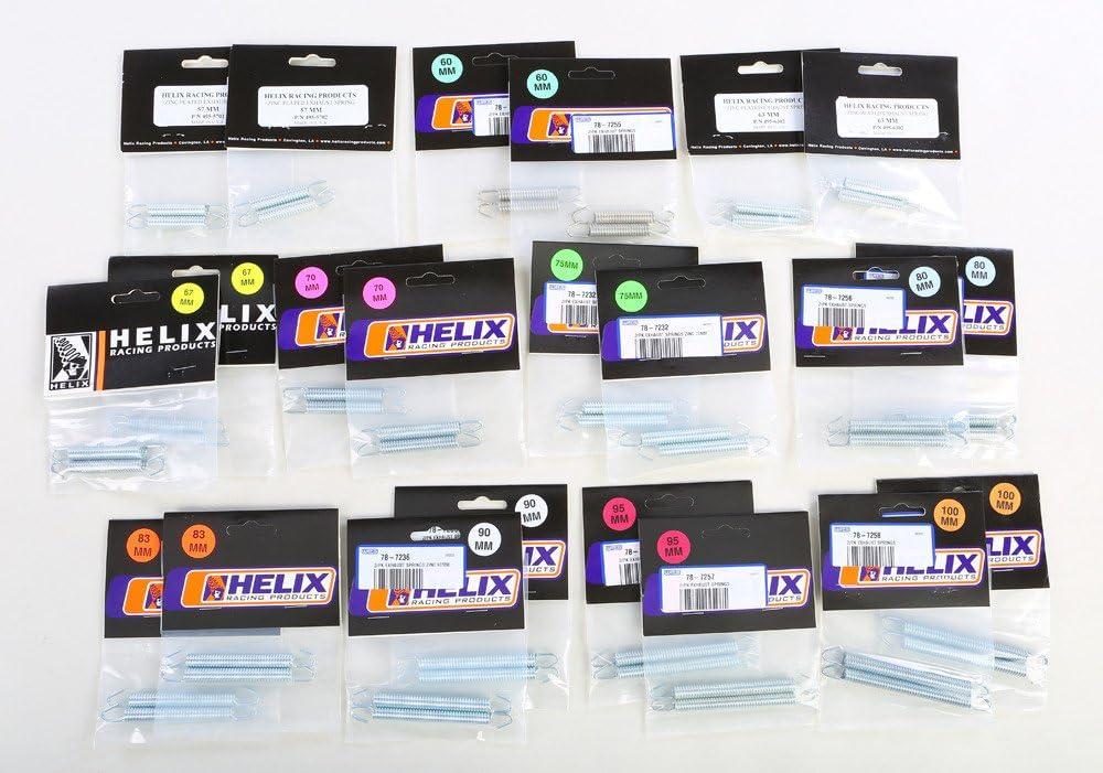Helix Memphis Mall - 495-1002 Exhaust Zinc Max 46% OFF Pack Dealer Springs
